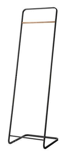 山崎実業 コートハンガーKD ブラック 約W40×D40×H140cm タワー 7672