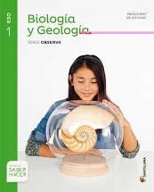 BIOLOGÍA Y GEOLOGÍA SERIE OBSERVA -9788468033358
