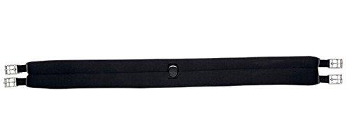 KAVALKADE Sattelgurt Neopren einseitig elastisch, schwarz, 115 cm