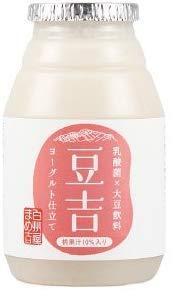 発酵飲料 飲む大豆ヨーグルト 豆乳ヨーグルト(乳酸発酵大豆飲料) 豆吉 桃果汁入り 150g×20本 グルテンフリー アレルゲンフリー