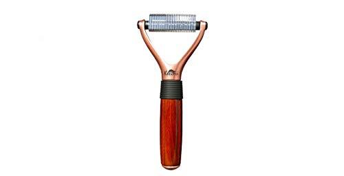 Kenchii Luxury Pet Grooming Rake - Choose Sizes 16-Teeth, 23-Teeth, 40-Teeth (40 Teeth)