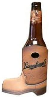 Leinenkugels Cowboy Boot 12 oz Beer Bottle Holder Kaddy Coolie Huggie Cooler