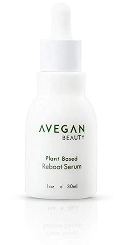AVegan Beauty Plant Based Reboot Serum, Gentle Exfoliating and Blemish Spot Treatment with Alpha and Beta Hydroxy Acid