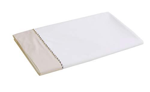 Blanc des Vosges Mystery Drap, Coton, Lin, 180 x 290 cm