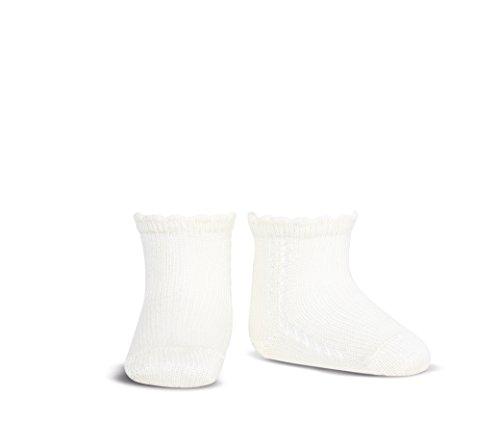 Condor 2569/4, Calcetines para Bebés, Blanco (Blanco 200), 3-6 meses (Talla fabricante: 00)