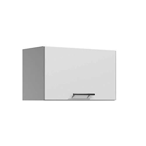 Lila – Küchenschrank für Dunstabzugshaube, 60 cm, 1 Tür, mattweiß