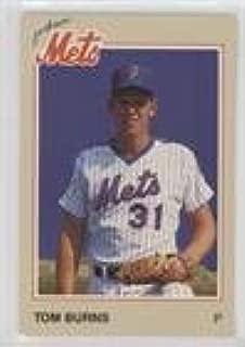Tom Burns (Baseball Card) 1987 Coca-Cola Jackson Mets - [Base] #21