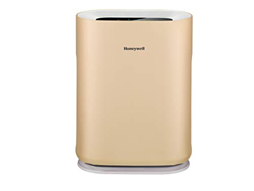 Honeywell Air Touch A5 53-Watt Room Air Purifier (Champagne Gold)