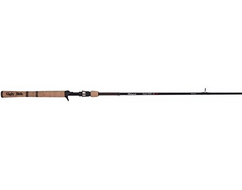 "Ugly Stik Elite Casting Rod, 6'6""- Medium Heavy- Moderate Fast"