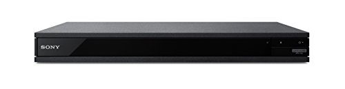 Sony X800 - UHD - 2D/3D - SACD - Wi-Fi - Dual HDMI - 2K/4K - Region Free Blu Ray Disc DVD Player - PAL/NTSC - USB - 100-240V 50/60Hz for World-Wide Use & 6 Feet Multi System 4K HDMI Cable