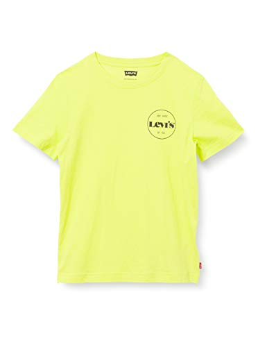 Levi's Kids LVB SS GRAPHIC TEE D413 Camiseta Limeade para Niños