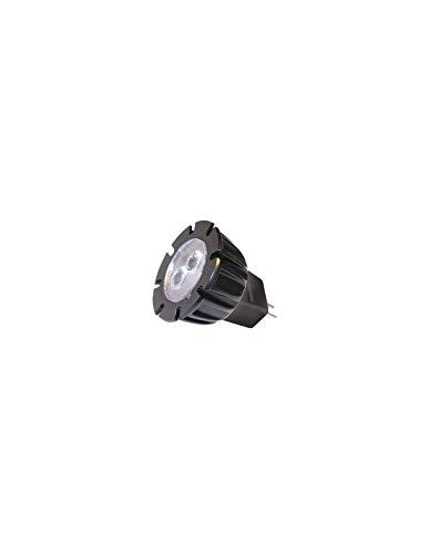 Garden Lights GL6215011 A Mr11 Power LED, plastique, 2 W, G5.3, noir, 0,1 x 0,1 x 0,1 cm