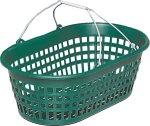 PANICK 1313602 Gartenkorb 15 kg oval grün Kunststoff