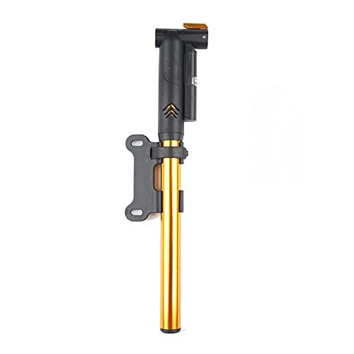 Soapow Mini bomba de bicicleta portátil con alta presión 120 PSI/8bar mano bicicleta neumático bomba para bicicletas