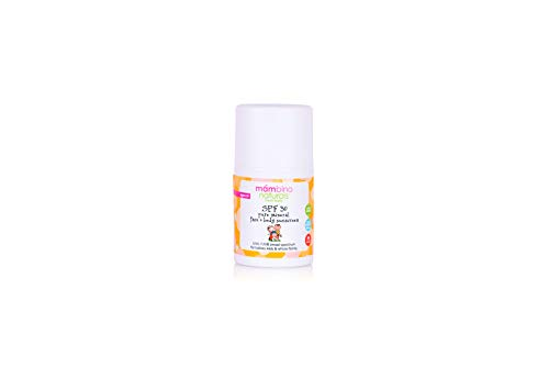 Mambino Organics SPF 30 Pure Mineral Face And Body Sunscreen Lotion – All Natural Organic with Non-Nano Zinc Oxide - 3.5 Fluid Ounces (TRAVEL SIZE)