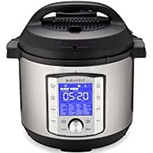 Instant Pot Duo Evo Plus Autocuiseur électrique 5,7 l  xa010 fonctions en 1 : stérilisateur, cuiseur lent, cuiseur à riz, cuiseur vapeur, Saut