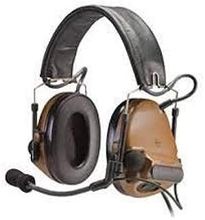 3M Peltor ComTac III Electronic Headset FB Single Comm NATO Coyote Brown MT17H682FB-47 CY