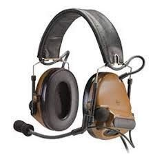 3M Peltor ComTac III Electronic Headset FB Single Comm NATO Coyote Brown MT17H682FB-47 CY