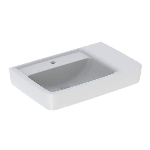 Keramag KG Renova Nr.1 Plan Waschtisch, Ablg.re 750x480mm, m. Hl, o. Ül, weiß, Tect