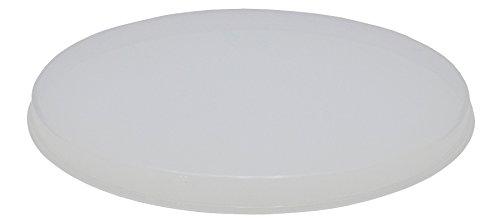 エンテック PO-22B 乳白色 ポリプロバケツ 10L 蓋 PO22B