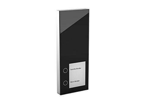 Telegärtner Elektronik 150730 DoorLine Slim DECT schwarz Türsprechanlage