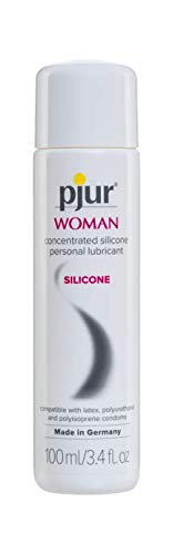 pjur Woman Silicone Based Personal Lubricant for Female Skin, 3.4 Ounce