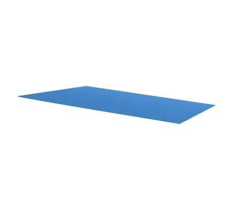 Lona rectangular para piscina, rectangular, 260 x 160 cm, polietileno, color azul
