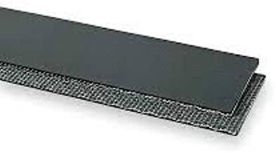 12 Inch Wide PVC 120 Cover One Side Black Conveyor Belt Material (5 Foot Length)