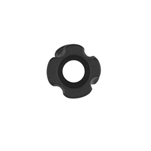LIOOBO 1 unid aleación de Aluminio Accesorio de Tiro con Arco Arco Compuesto Mirilla para Tiro de Caza de Arquero Negro