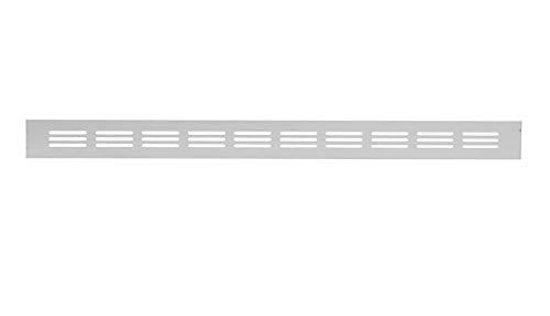 Aluminium Lüftungsgitter Silber 40 x 300mm Stegblech Lüftung Alu-Gitter Gitter Möbelgitter Möbellüftung