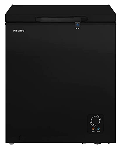 Hisense Congelador 5 pies cúbicos (141.5 litros) Negro