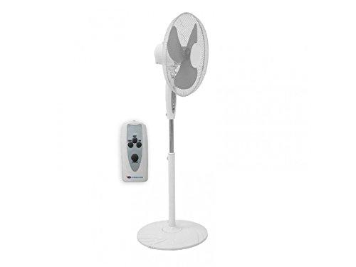 Ventilatore Descon a Piantana Oscilazzione con Impostazioni di Altezza Angolo e Tempo a 45W Telecomandato