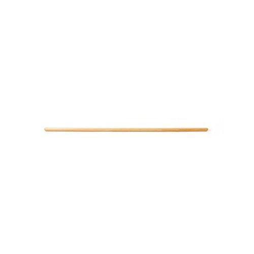 Kawanyo, bastone rotondo in legno da 100 cm, confezione singola o multipla, per ginnastica e palestra, in legno naturale, 1er
