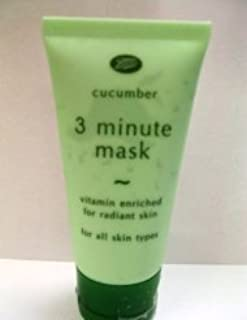 Boots Cucumber 3 Minute Face Mask Vitamin Enriched for Radiant Skin Product of Thailand