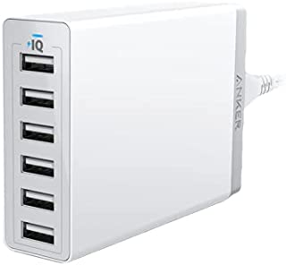 Anker PowerPort 6 (60W USB Charging Hub) – White