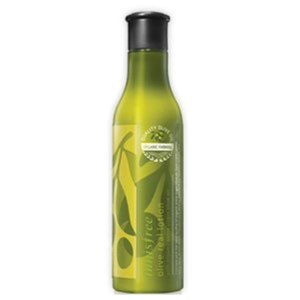 グラス衝突疲労innisfree(イニスフリー) 保湿栄養 オリーブリアル ローション 乳液 160ml
