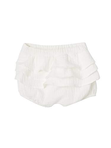 Vertbaudet - Lote de 2 bloomers para bebé niña de gasa de algodón blanco lot blanc Talla:NAISSANCE - 50CM
