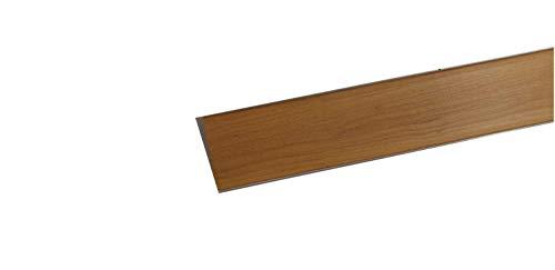Zoccolatura per cucina,h15 cm, zoccolo, zoccolatura, ottima per la cucina, resistente colore noce chiaro Lunghezza 2 Metri