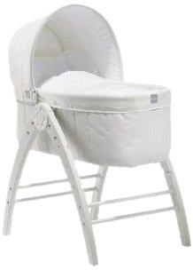 BabyDan Berceau+Chaise Longue+Chaise Haute Angel, Blanc