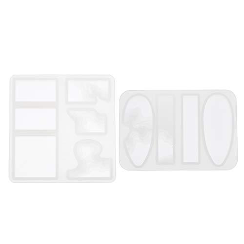 Colcolo Lotti 2 Island Soap Charms Creazione di Gioielli in Silicone Stampo in Resina Stampo Epossidico