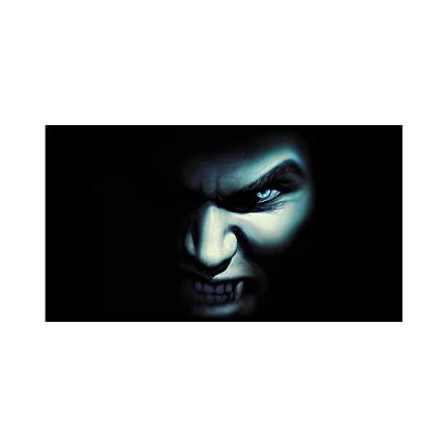 PSFF Terror Creativo Etiquetas engomadas Divertidas del Coche, película de la Ventana Perforada, Pintura de la Ventana Trasera decoración para Camiones, SUVS, Jeep 66'x29'