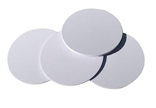 YARONGTECH NFC Tag NXP NTAG215 NFC Karte , Weiß PVC, 1 inch Durchmesser, Rund, 504 Bytes Speicher, Kompatibel Mit Amiibo TagMo - 10 Stücke