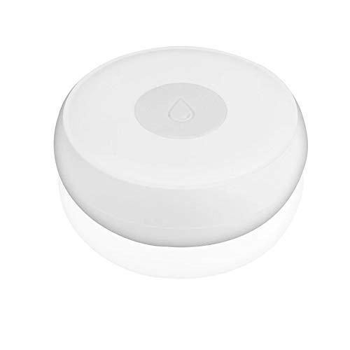 Dasorende ZigBee Smart Haus Wasser Leck Sensor Drahtloser Hoch Wasser Melder Wasser Lecksuche Alarm Wasser Stand üBerlauf Alarm Tuya Smart Leben App Fernbedienung Kompatibel mit IFTTT