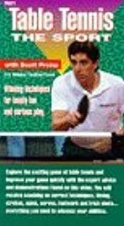 Table Tennis the Sport VHS
