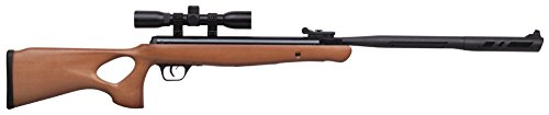 Crosman CVH17RDNS-WX .177-Caliber Valiant Wood Nitro Piston Elite Powered Break Barrel Air Rifle With 4 x 32mm Scope