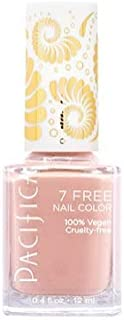 Pacifica 7 Free Nail Polish Collection Rose Quartz 0.45 oz, Pack of 1
