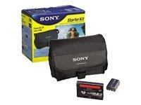 Sony Acc-DHM3 Zubehörset für Digital8 und Hi8 Camcorder (m. Akkus der M-Serie)
