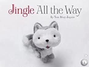 Hallmark JINGLE ALL THE WAY Book by Tom Shay-Zapien (Does not include Jingle)