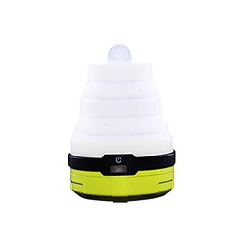 Crazyfly Linterna LED de camping, linterna plegable LED, portátil, mini linterna de emergencia, luz nocturna para senderismo al aire libre, camping