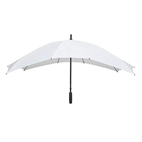Impliva Falcone Regenschirm, 148 cm, Weiß
